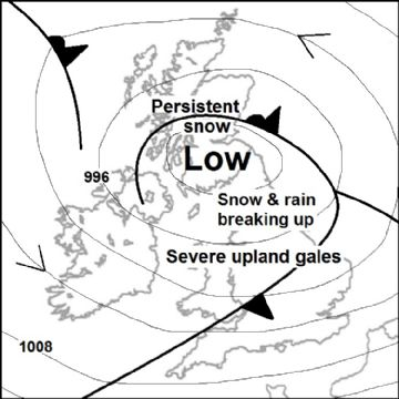 Synoptic chart for 24 Feb