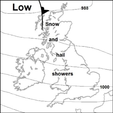 Synoptic chart for 25 Feb