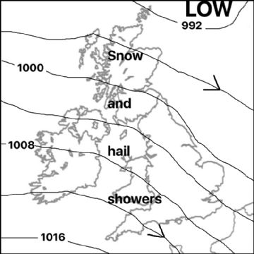 Synoptic chart for 26 Feb