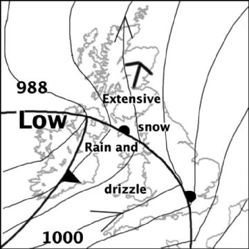 Synoptic chart for 28 Feb